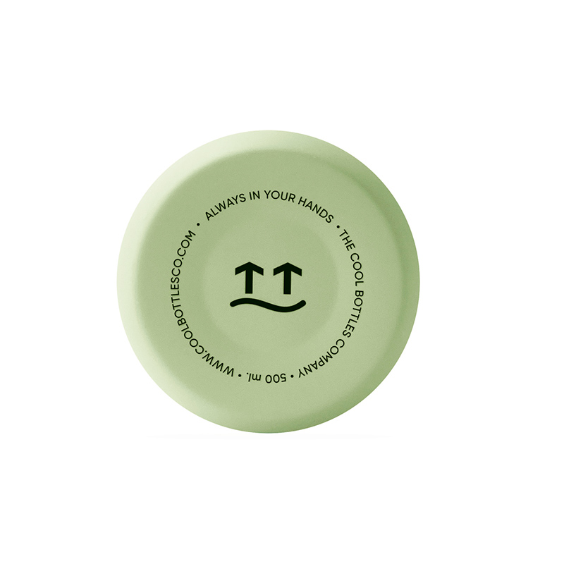 Botella de acero inoxidable Pastel Green