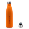 Botella de acero inoxidable Vivid Orange