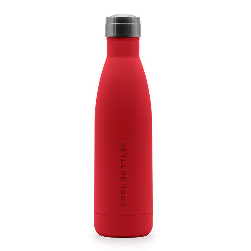 Botella de acero inoxidable Vivid Red