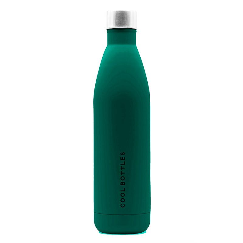 La botella de acero inoxidable Vivid Quetzal mantiene tus bebidas heladas hasta 24 horas y 12 horas caliente. Diseñada para personas urbanas. Vivid Quetzal