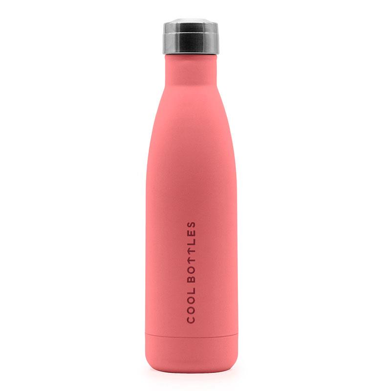 Tú botella de acero inoxidable - Pastel Coral 1