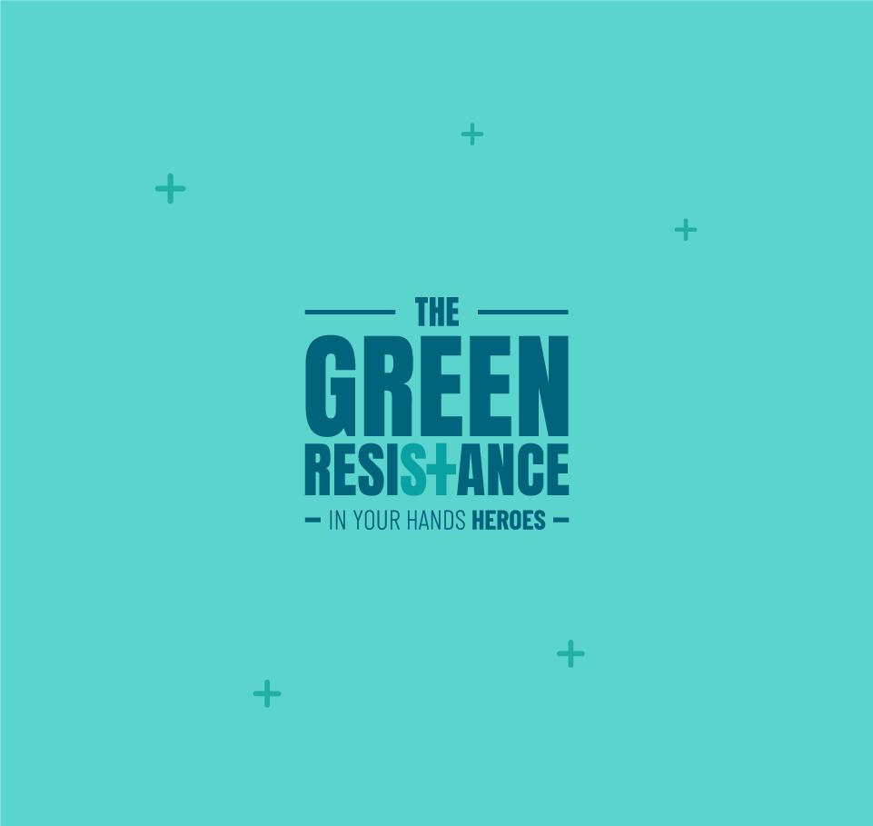 Tú botella de acero inoxidable - The Green Resistance 5