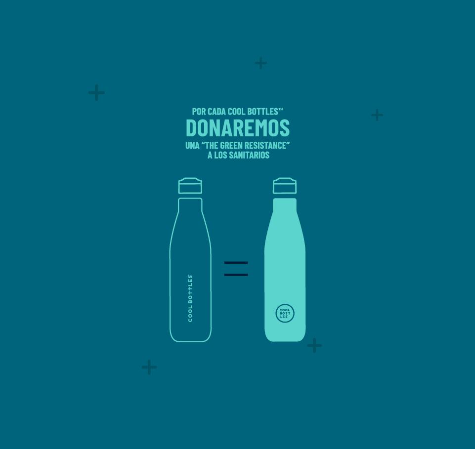 Tú botella de acero inoxidable - The Green Resistance 6