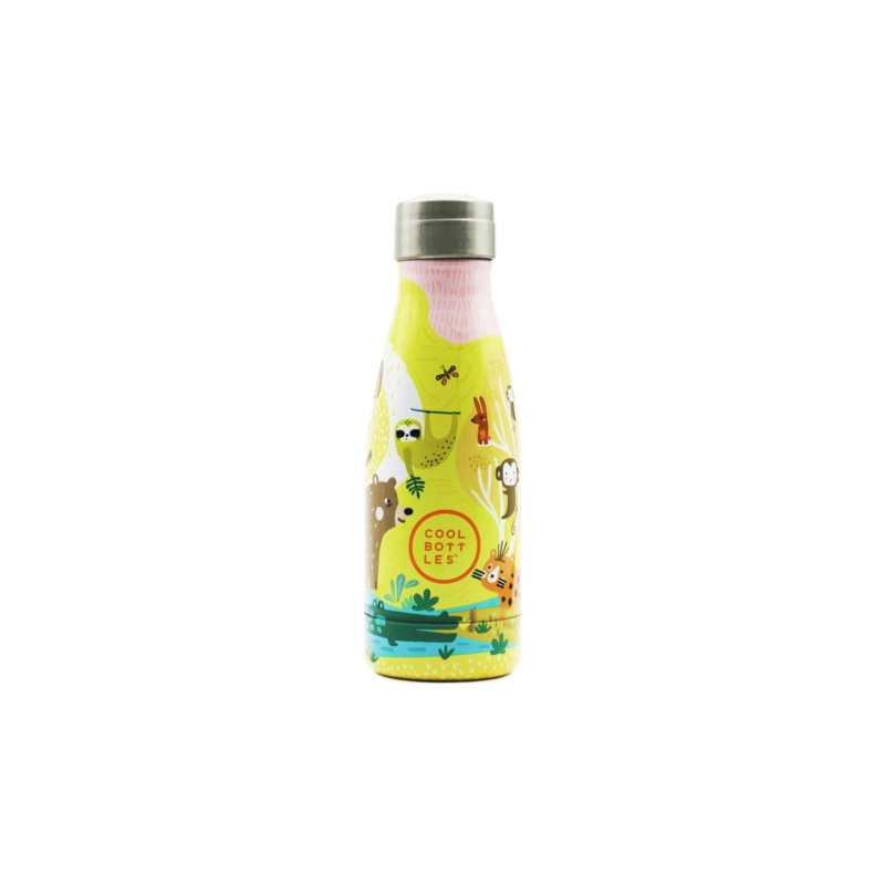 Jungle Park es su primera Cool Bottles™ Kids. Una botella de acero inoxidable que forma parte de Cool Bottles™ Kids.