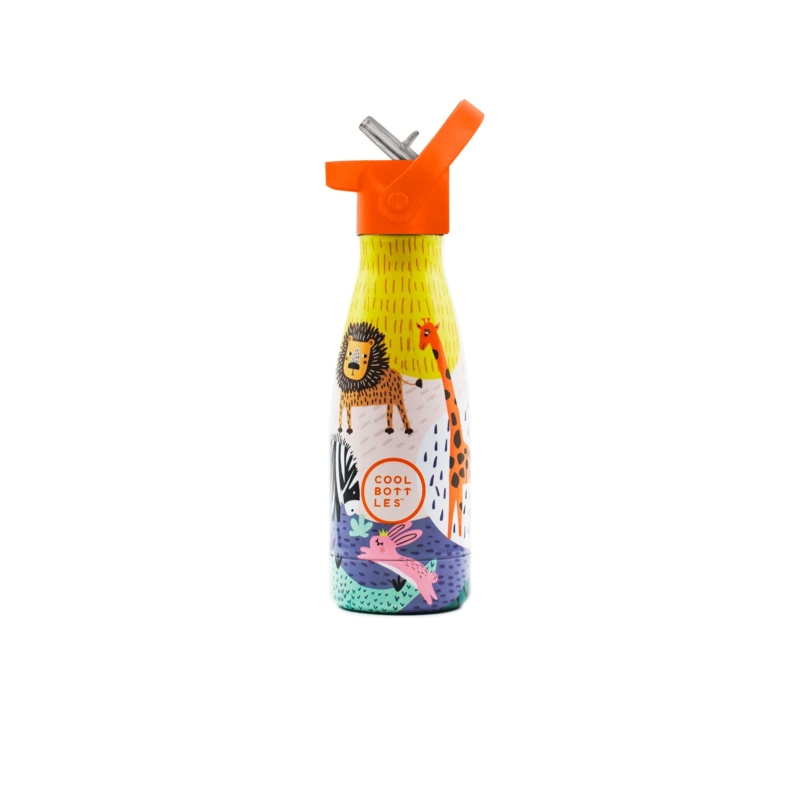 Savannah Kingdom es su primera Cool Bottles™ Kids. Una botella de acero inoxidable que forma parte de Cool Bottles™ Kids.