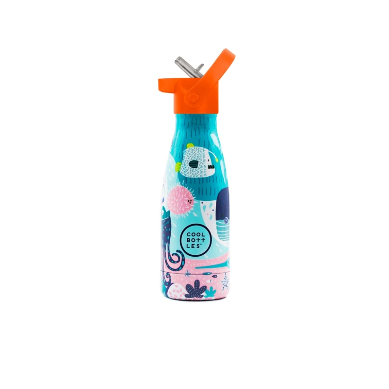 Sea World es su primera Cool Bottles™ Kids. Una botella de acero inoxidable que forma parte de Cool Bottles™ Kids.