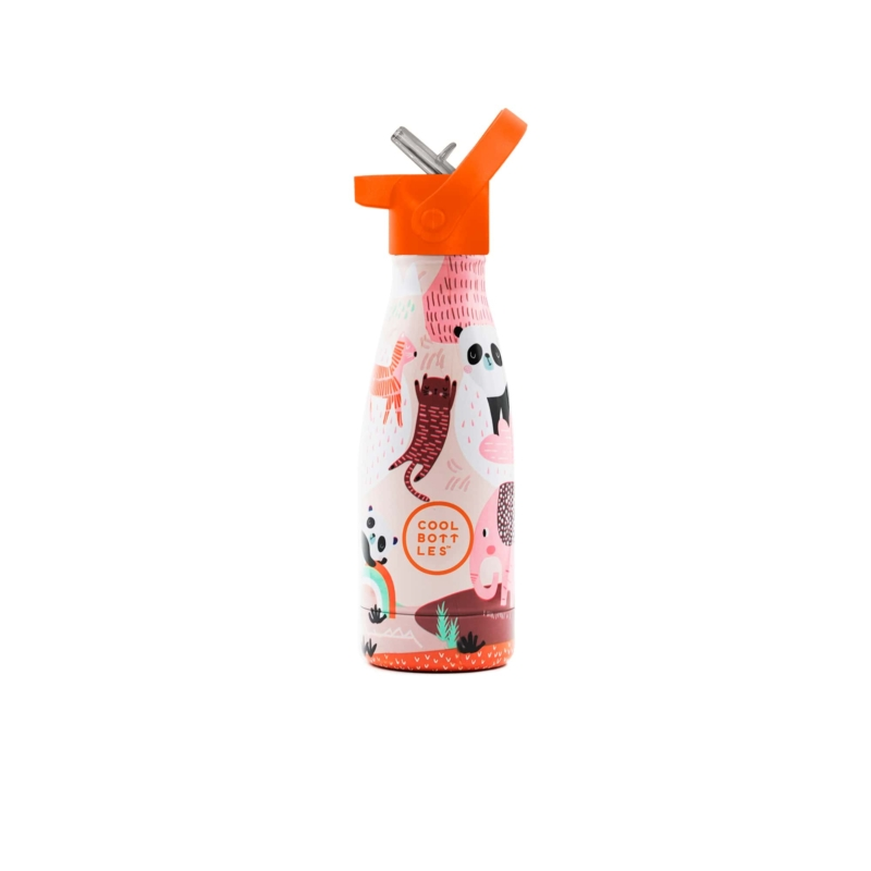Panda Gang es su primera Cool Bottles™ Kids. Una botella de acero inoxidable que forma parte de Cool Bottles™ Kids.